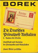 Die Deutschen Privatpost Anstalten