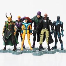The Avengers 2 Age of Ultron PVC Action Figure Toys Superheroes 6Pcs/Set