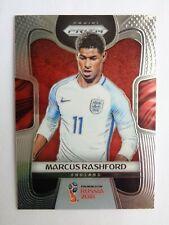 # 72 MARCUS RASHFORD Rookie Rc 2018 Panini PRIZM WORLD CUP Soccer England - QTY