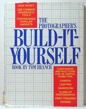 THE PHOTOGRAPHER'S BUILD IT YOURSELF BOOK Branch Photography Manual Design Guide