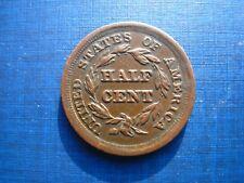 United States Half Cent 1855.