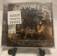TRANSFORMERS: DARK OF THE MOON - THE ALBUM   CD (slightly damage case)