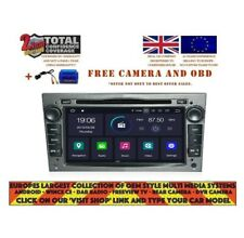DVD GPS NAVI ANDROID 9.0 DAB+ WIFI CARPLAY VAUXHALL OPEL ZAFIRA (05-11) OPA-713G