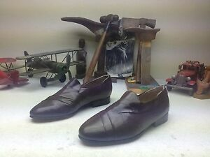 SUAVE GIORGIO BRUTINI SLIP ON LEATHER SOLE DRIVING BUSINESS POWER SHOES 7 EEE