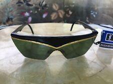AUTHENTIC YVES SAINT LAURENT BLACK MOD6506  - New VIntage 1970's - 80's