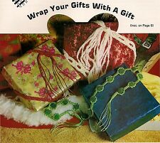 Macrame Package Tie - Christmas Craft Book: SK1 Silent Knot - Belt Present Wrap