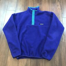 Patagonia Jacket Fleece Men's Medium 1/4 snap pullover Sz S