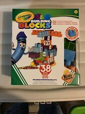 Crayola Kids at Work Customizable Building Blocks Boxed Playset by Amloid I Colo