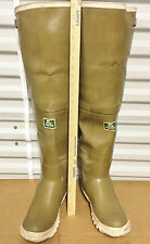 Ultra Rare Vintage Coon Hunter Rubber Hip Waders Boots US9 UK8 EU42 Watstiefel