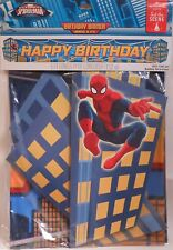 Party Banner SPIDER-MAN Fold-Out Buildings Birthday Decoration Supplies Hallmark