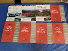 1970 Ford Mustang/Maverick/Cougar/T -Bird/Continental Service/Shop/Repair Manuals