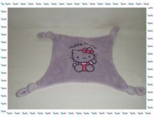 ♣ - Doudou  Plat Carré Violet Hello Kitty Sanrio