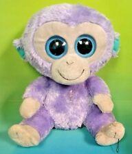"TY BEANIE BOOS BOO'S - Blueberry Chimp Monkey 9"" inch - MEDIUM Plush Rare"