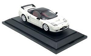 EBBRO HONDA NSX TYPE R WHITE MODEL CAR 1:43 SCALE