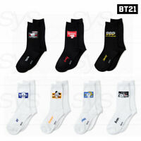 BTS BT21 Official Authentic Goods BITE Mid Socks Adults 230 x 270 mm + Tracking#