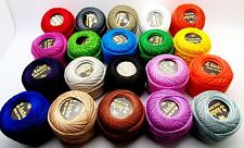 20 x Anchor Crochet Cotton Thread Balls Assorted Colours Sewing Embroidery New