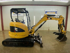 2015 Cat 303e Cr Orops Track Excavator With 18 Pin On Bucket Straight Blade