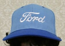 FORD AUTOMOTIVE TRUCK LOGO BLUE AND BABY BLUE STRAPBACK PRE-OWNED HAT SOUVENIR