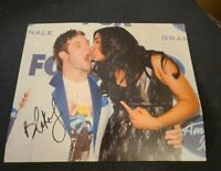 BLAKE LEWIS SIGNED 8X10 PHOTO AMERICAN IDOL JORDIN SPARKS E W/COA+PROOF RARE WOW