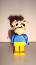 FIGURINE LEGO FABULAND VINTAGE ANIMAL  - CHIEN DOG PERO (5x3cm)