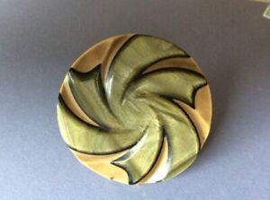"""Over 2"""" Laminated Celluloid Pinwheel Button"""
