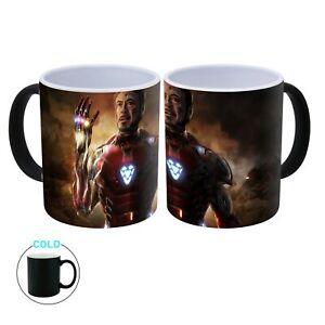 Avengers Endgame - Iron Man Heat Changing Ceramic Coffee Mug - 300ml