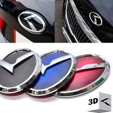 3D K Logo Front + Rear Trunk 3Color Emblem for KIA Optima K5 2011-2013