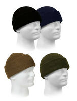 Rothco 100% Wool Genuine GI Military Winter Beanie Knit Watch Cap Made in USA