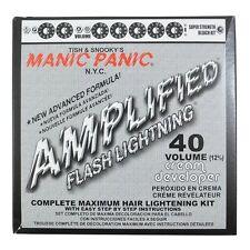 Manic Panic Flash Lightning Hair Bleach Kit 40 Volume New
