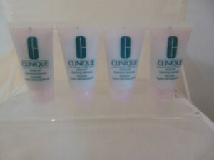 Clinique RINSE OFF FOAMING CLENSER 120ML (30MLx 4)  - New