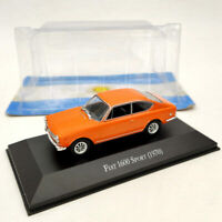IXO 1:43 Fiat 1600 Sport 1970 Orange Diecast Models Limited Edition Used