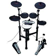 Samson Carlsbro CSD130 Electic Beginner Electronic Drum Kit Set w/ Module Pedal