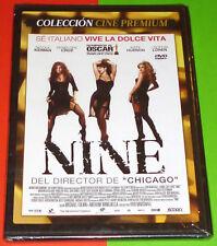 NINE - English Español -DVD R2- CAJA FINA/SLIM - Precintada