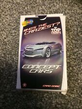 Mini Top Trumps Card Game Prototypes Concept Cars Issue Various 2014 17 Car Card