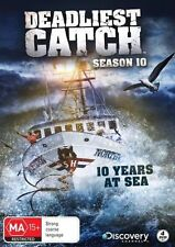 Deadliest Catch SEASON 10 Ten DVD NEW Region 4