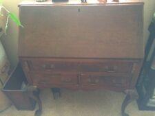 Walnut Pennsylvania Chippendale Secretary Desk