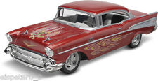 1957 Chevy Bel Air Snap Kit, Revell USA Modell Bausatz 1:25, 85-1931, Neu