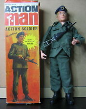 GI JOE ACTION MAN VINTAGE ACTION SOLDIER PALITOY  1970