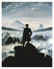 The Wanderer Above the Sea of Fog, c.1818 Art Print by Caspar David Friedrich