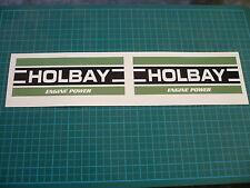 HOLBAY Stickers (Pair) 120mm Classic Restoration