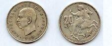 Gertbrolen Grèce 20 Drachmes    Argent 1960    Exemplaire N° 2  Silver Coin