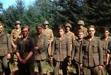 WWII Color Photo Captured German Troops 1944 WW2 World War Two Wehrmacht  / 2005