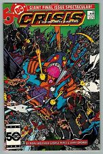 Crisis on infinite Earths #12 1986 (C6400) Wally West Becomes New Flash