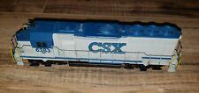 Athearn Ho Scale CSX Transportation GP40-2 Powered Locomotive #6383