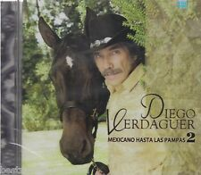 SEALED - Diego Verdaguer CD NEW Parte 2 Mexicano Hasta Las Pamapas BRAND NEW