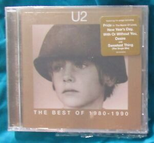 U2 - The Best Of 1980-1990 - CD - Sealed - NEW