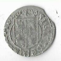 1625 Silver Thaler Rare Very Old Renaissance Medieval Era Collection Coin LOT199