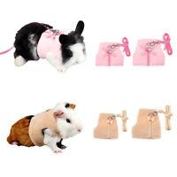 Adjustable Ferret Harness Rabbit Hamster Rat Mouse Pet Leash Lead Rope