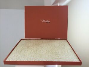 Hadley Table placemats cork golden yellow William Fall Thanksgiving NEW