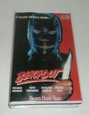 Blackout 1985 Michael Beck 80's Slasher Horror Action Palace Home Video PAL VHS